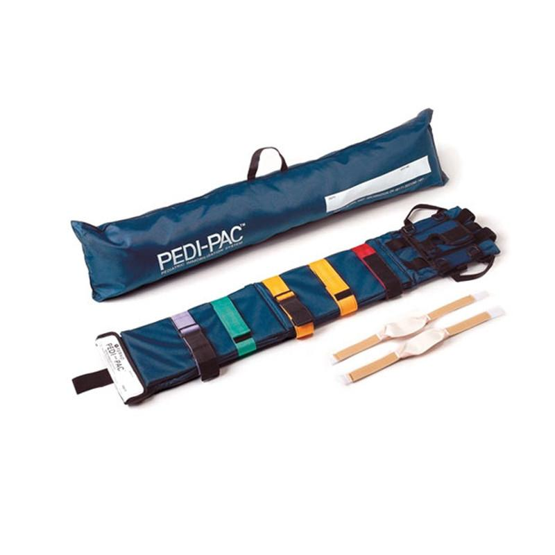LINE2design Adjustable Spinal Immobilization Backboard Medical EMS Emergency Pediatric Head Support Board - Nylon Cover Carrying Case