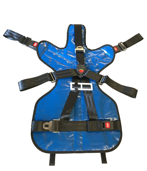 Line2Design Deluxe Pedi Save & Pediatric Child Restraint Seat System - Royal Blue - LINE2EMS - Extrication