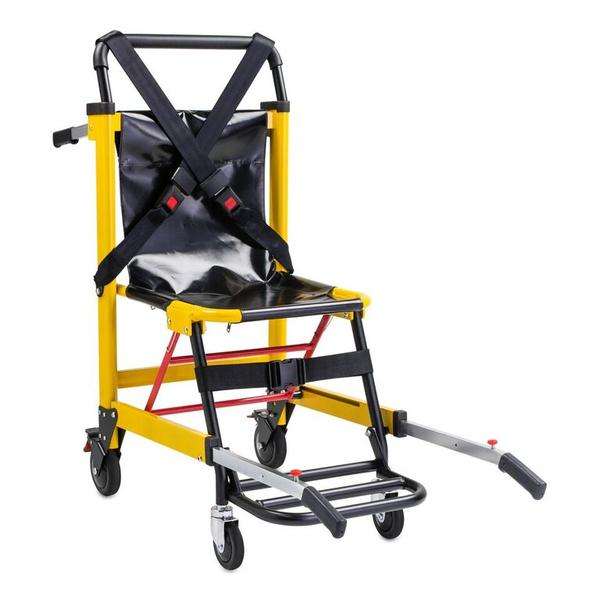 LINE2design -  4 Wheel Deluxe Heavy Duty Evacuation Stair Chair in Yellow
