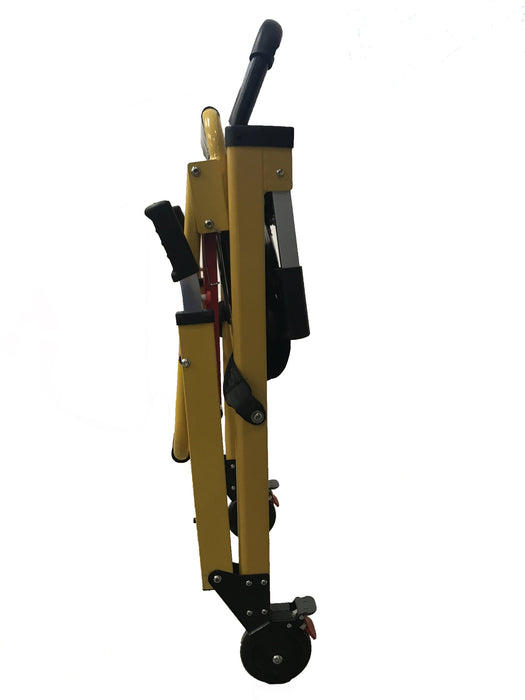LINE2design 2-Wheel Deluxe Evacuation Folding Stair Chair - Ideal for EMS/Ambulance Transport - LINE2EMS - Patient Handling