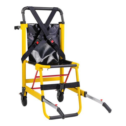 LINE2design 2-Wheel Deluxe Evacuation Folding Stair Chair - Ideal for EMS/Ambulance Transport
