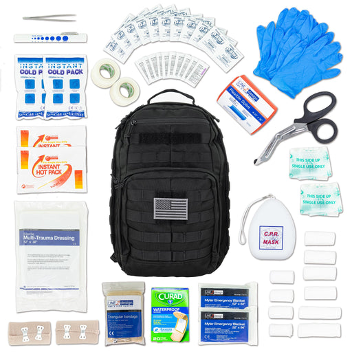 LINE2design Tactical Backpack Kit IFAK First Aid Bleed KIT