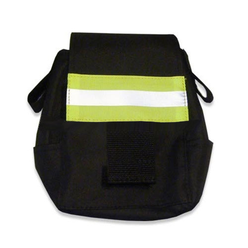 Deluxe Firefighter Emergency Escape Bag with Reflective Trim - Black