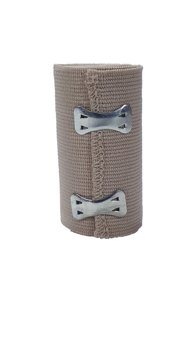 "LINE2design Soft Wrap Elastic Bandages Support Stretched Latex Free 3""x5 Yards Packed with 2 Attachment Clips - LINE2EMS - Bandages"