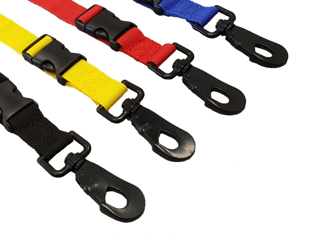 FIREFIGHTER GLOVELEASH 2 WITH QUICK PULL D-RING