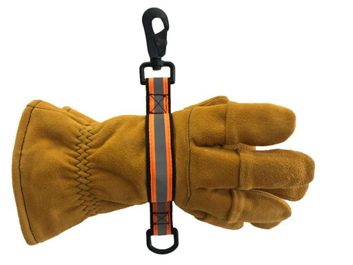 Firefighter Gloveleash 2 with Reflective Orange Material