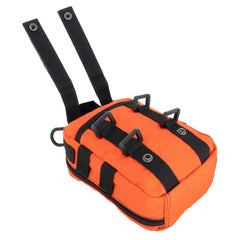 LINE2design Basic Individual First Aid MOLLE Kit, Emergency Medical Kit, Trauma Stop Bleeding Kit, Gunshot Emergency Kit-Orange