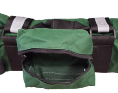 Portable Oxygen Cylinder Sleeve Bag Star Of Life - Zippered Storage Tank Pouch w/ Adjustable Straps