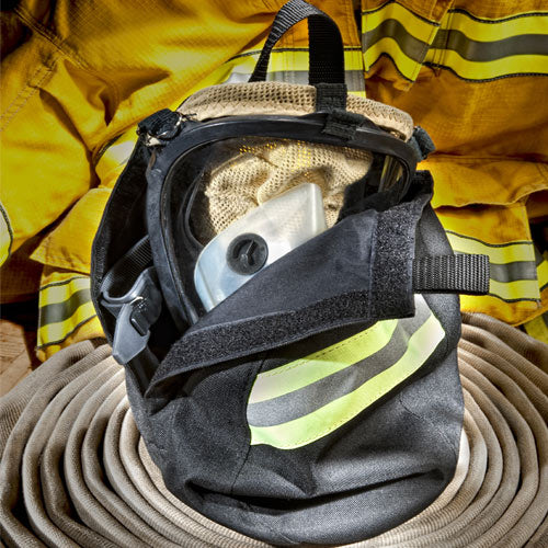 Airmask bag with Fleece Linning, Triple Trim and Heavy Duty Metal Hook