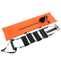 LINE2design First Aid Medical Adult-Pediatric Traction Splint with EMS EMT Adjustable Straps & Carrying Case