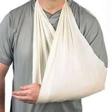 "LINE2design Medical Triangular Bandages Emergency First Aid Light Weight Fracture Fixation Dressing 40"" x 40"" x 56"" - LINE2EMS - Splints"