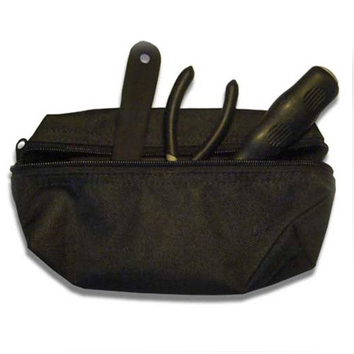 VERTICAL TOOL/UTILITY STORAGE POUCH – BLACK