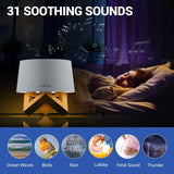 Airsee White Noise Machine with Night Light