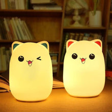 Load image into Gallery viewer, Friendly Bear Silicone Night Light