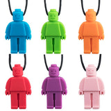 Sensory Chewable Necklace (Brick buddy)