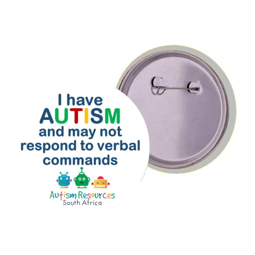 Lapel Badge (Emergencies) - Autism Resources South Africa