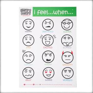 Smart Heart Feelings Chart - Autism Resources South Africa
