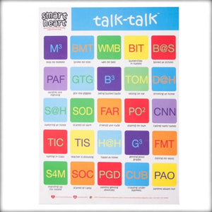 Smart Heart Talk Talk Chart - Autism Resources South Africa