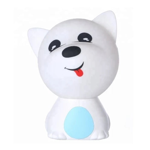 Puppy Soft Silicone Night Light - Autism Resources South Africa
