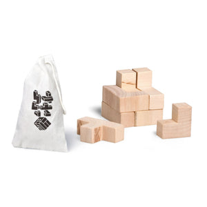 Wooden Somu Cube Puzzle