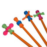 Pencil fidget Toppers (Pack of 3)