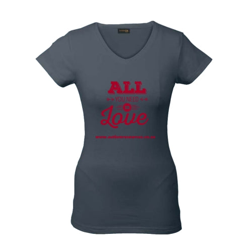 T-shirt All you need is love - Autism Resources South Africa