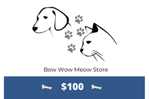Bow Wow Meow Store Gift Card