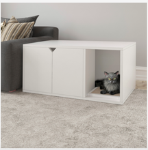 Load image into Gallery viewer, Cat Litter Box Enclosure - Decorative Furniture