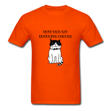 Load image into Gallery viewer, Cats are my Favorite People T-Shirt - orange