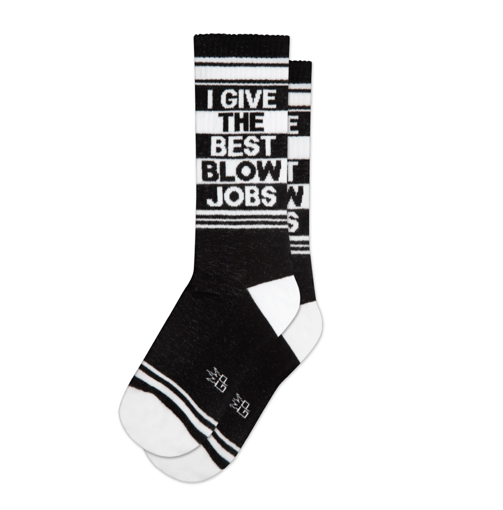 I Give The Best Blowjobs Socks