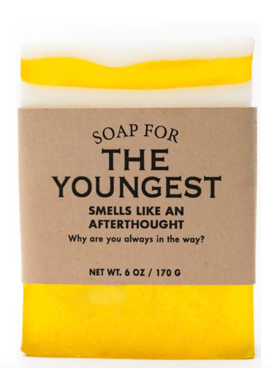 Soap For The Youngest Sibling