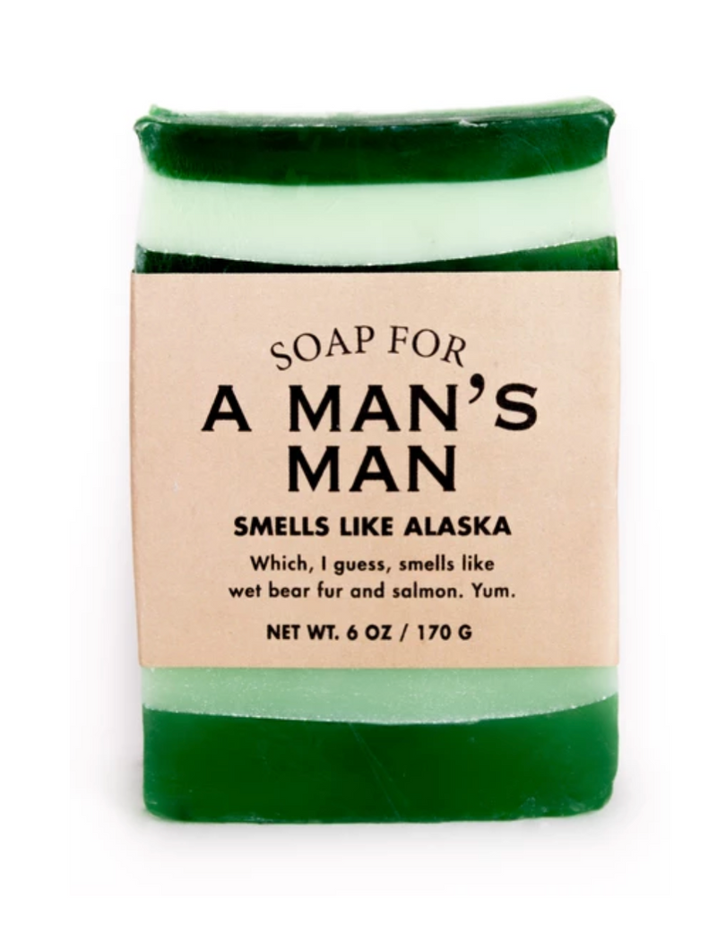 Soap For A Man's Man