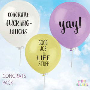 Congrats Balloon Pack