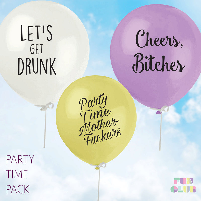 Party Time Balloon Pack