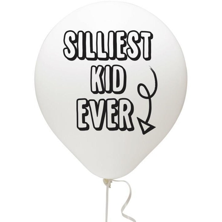 Silliest Kid Ever Balloon