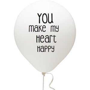 You Make My Heart Happy Balloon