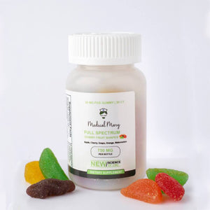 Medical Mary - Daily CBD – Full Spectrum Gummy Fruit Shapes (750mg)