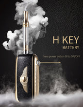 Load image into Gallery viewer, SPARX Gold H-Key Mini Box Battery 650mah Vape Variable Voltage
