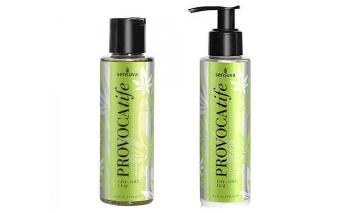 Provacatife Hemp and Pheromone Infused Massage Oil