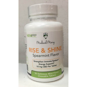 Medical Mary - Rise & Shine Spearmint Flavor Chewable CBD