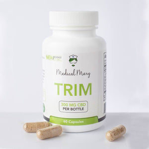 Medical Mary - TRIM CBD - Weight Loss Capsules