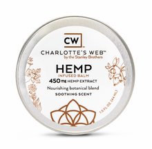 Load image into Gallery viewer, Charlotte's Web - HEMP Infused Balm - 450MG