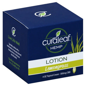 Curaleaf Hemp Lotion - Lemongrass