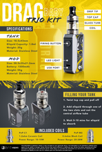 Load image into Gallery viewer, VOOPOO - Ceylon Yellow - DRAG Baby Trio Starter Kit