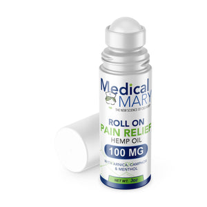 Medical Mary - ACTIVE RELIEF - ROLL-ON PAIN RELIEF - 3oz 100mg