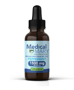 Medical Mary - Daily CBD – (1500mg) - Peppermint Flavored (Full Spectrum)