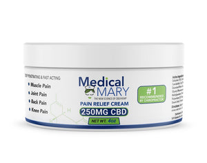 Medical Mary - ACTIVE RELIEF - PAIN RELIEF CREAM - 250mg