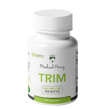 Load image into Gallery viewer, Medical Mary - TRIM CBD - Weight Loss Capsules