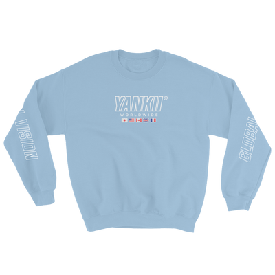 JDM Sweatshirt | Yankii Worldwide - Light Blue