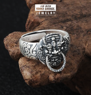 Buddha meditation ring
